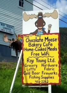 Chocolate Moose Cafe